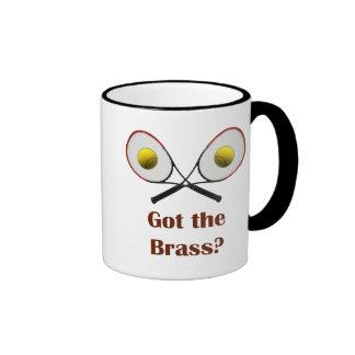 Got the Brass Tennis Ringer Mug