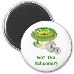 Got the Kahoonas Pinball Magnet