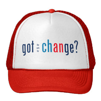 Got the nuts for change? trucker hat