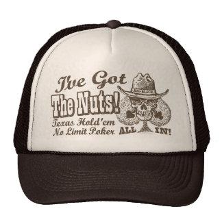 Got the Nuts Texas Poker Trucker Hat