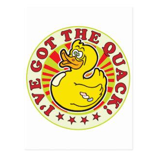 Got The Quack R Postcard