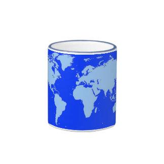 Got The World On A String Ringer Coffee Mug