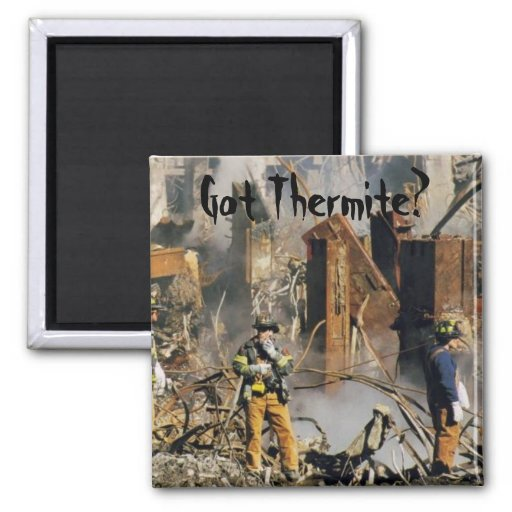 Got Thermite? 2 Inch Square Magnet
