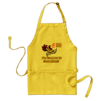 Got To Crow 90th Birthday Gifts Apron