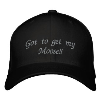Got to get mt Moose Embroidered Baseball Caps