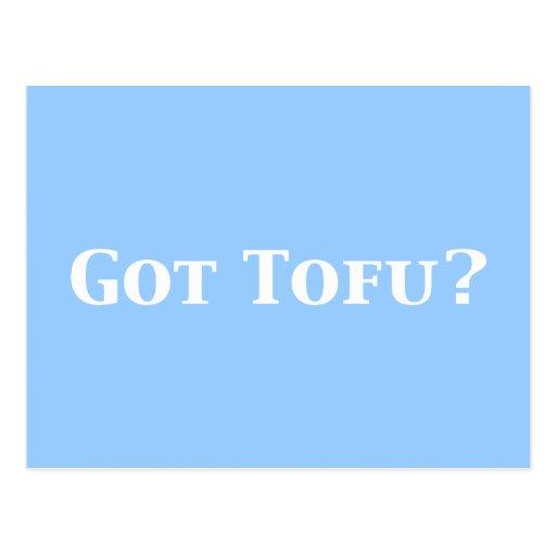 Got Tofu Gifts Postcard