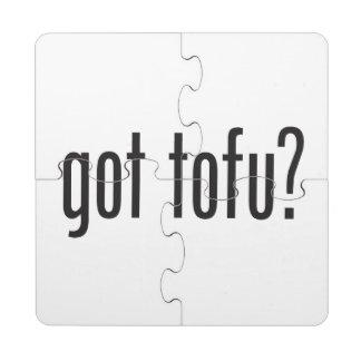 got tofu puzzle coaster