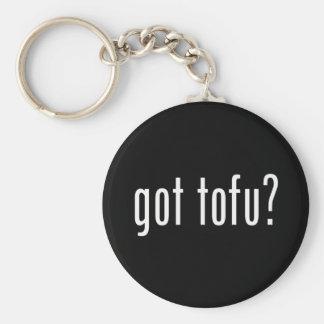 Got Tofu? Vegan Vegetarian Protein! Keychain