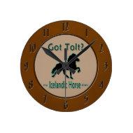 Got Tolt? My Icelandic Horse Does Round Clock