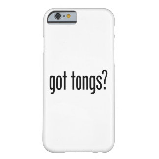 got tongs barely there iPhone 6 case