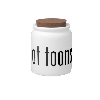 got toons? candy dish