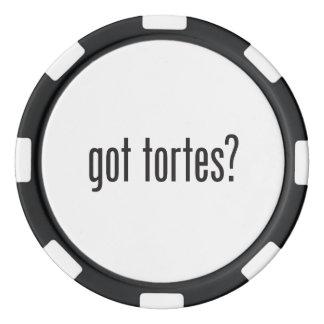 got tortes poker chips set