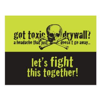 Got Toxic Drywall? Postcard
