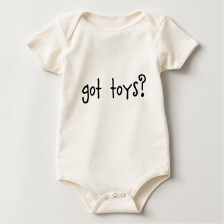 got toys? baby clothes baby bodysuit
