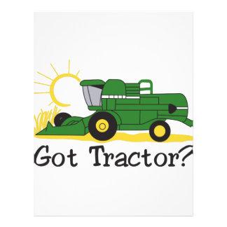Got Tractor? Letterhead