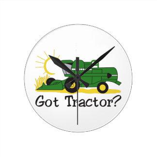 Got Tractor? Round Clock