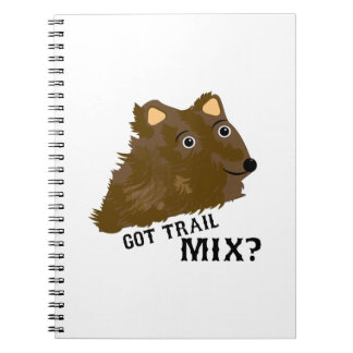Got Trail Mix? Spiral Note Books