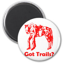 GOT TRAILS MAGNET