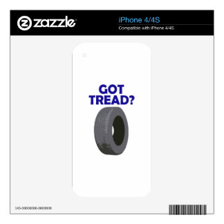 GOT TREAD DECAL FOR THE iPhone 4