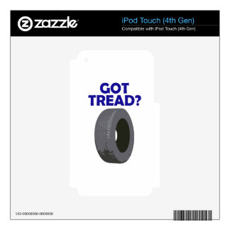GOT TREAD iPod TOUCH 4G DECAL