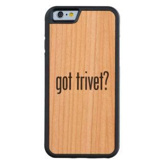 got trivet carved® cherry iPhone 6 bumper