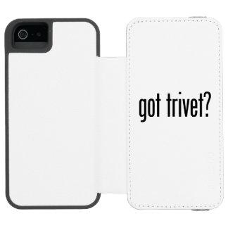got trivet incipio watson™ iPhone 5 wallet case