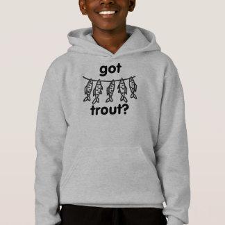 got trout hoodie