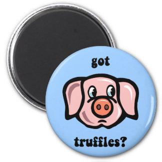 got truffles 2 inch round magnet
