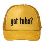 got tuba? mesh hats