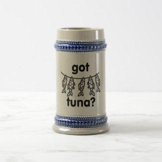 got tuna beer stein