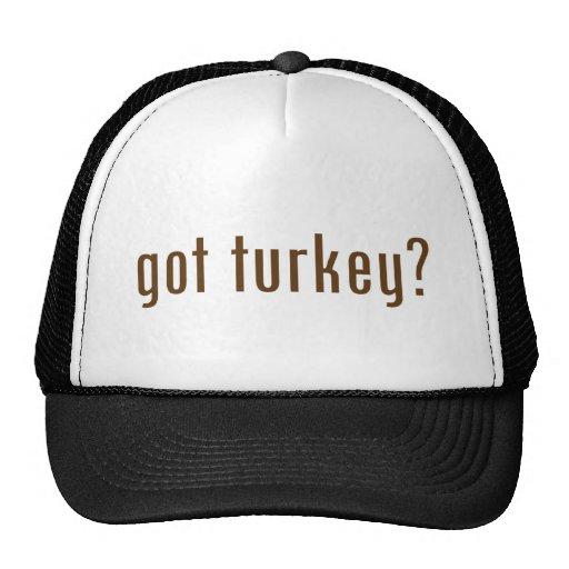 got turkey? trucker hats