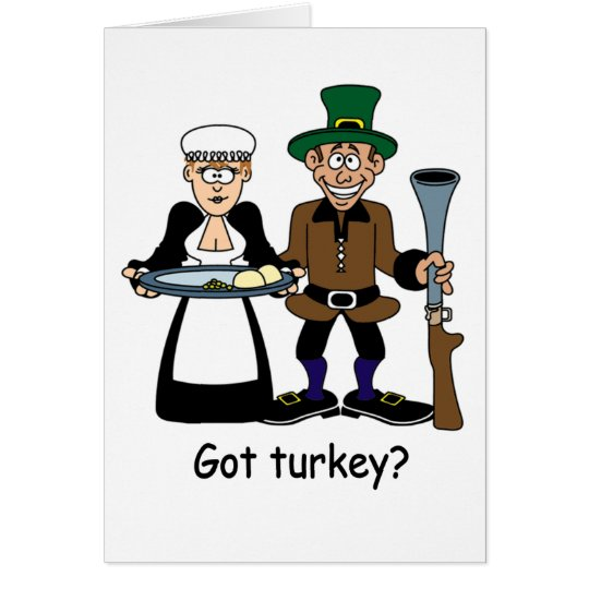Got turkey? notecards card
