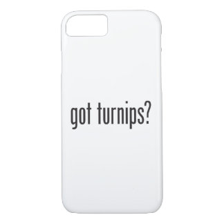 got turnips iPhone 7 case