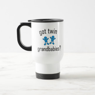 Got Twin Grandbabies? Travel Mug