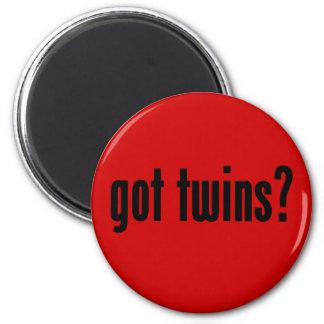 got twins? 2 inch round magnet