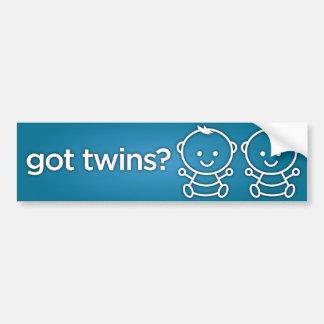 Got Twins? Boy Boy Twin Bumper Sticker