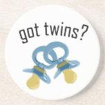 Got Twins? Drink Coasters
