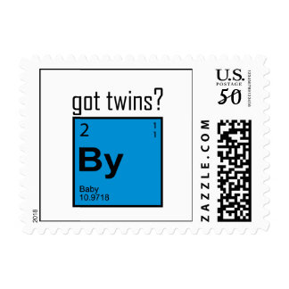 Got Twins Element Postage Stamps!