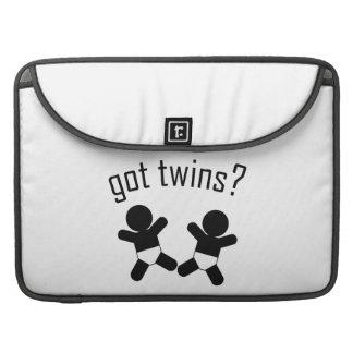 Got Twins Flap sleeve! Sleeve For MacBooks