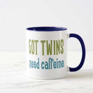 GOT TWINS need caffeine Mug