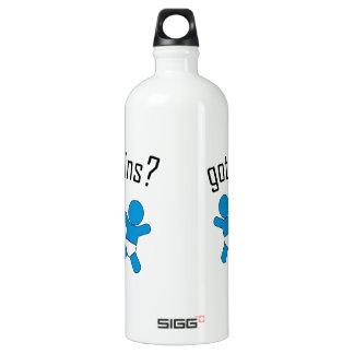 got twins sports bottle! aluminum water bottle