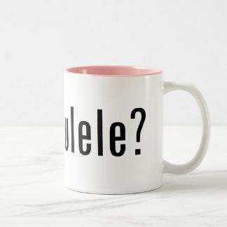 got ukulele? coffee mugs