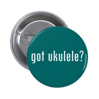 got ukulele? pinback button