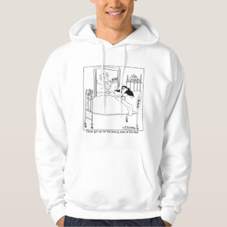 Got Up On The Wrong Side of the Bed Again Hoodie