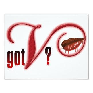 Got V - Vampire Blood Card