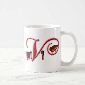 Got V - Vampire Blood Classic White Coffee Mug