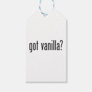 got vanilla pack of gift tags