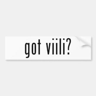 got viili? car bumper sticker