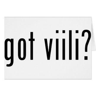 got viili? card