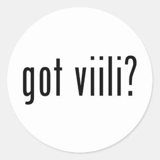 got viili? classic round sticker